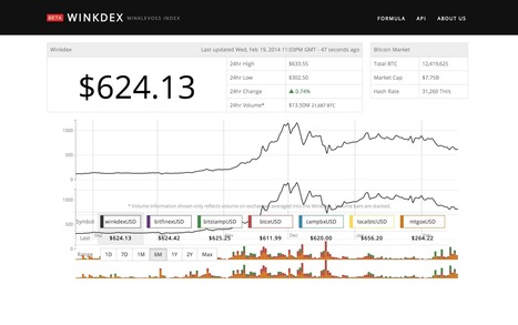 Winklevoss Twins Launch Price Index for Bitcoin Named the 'Winkdex' | Open Source Portal | Scoop.it