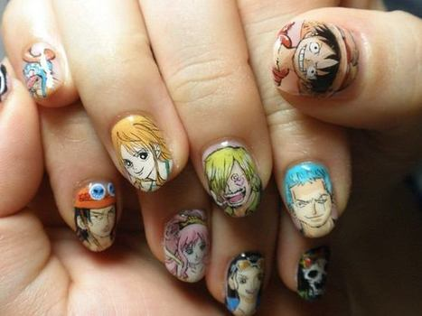 Itanail  Japanese   Painful Nail Art   Japonism in Beauty   Anti-Agein   Scoop.it