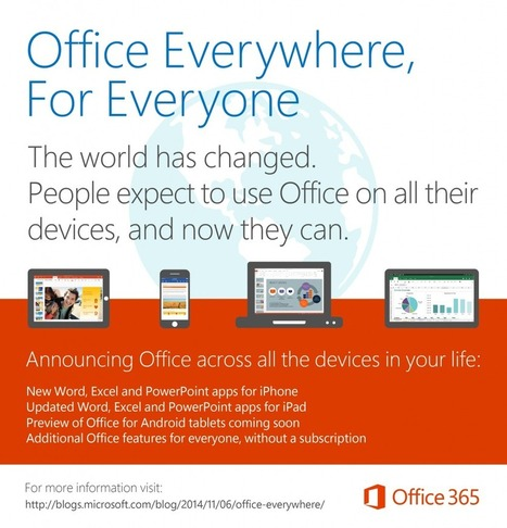 More Office. Everywhere you need it. - The Official Microsoft Blog | Tools for Learners | Scoop.it