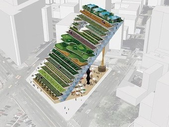 Vertical (Diagonal?) Farm from Work AC in NYC | Verticale Tuinen | Scoop.it