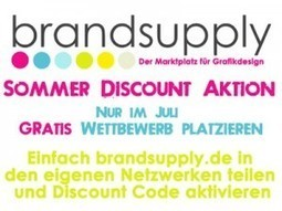 Teile den Spirit und starte GRATIS Grafikdesign Wettbewerb – Mit der Brandsupply Sommer Aktion bis Ende Juli | Der Brandsupply Blog | Grafikdesign bei Brandsupply | Scoop.it