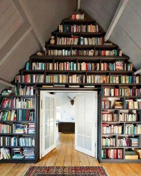50 bibliotecas: 50 ideas para ordenar nuestros libros | Libros y bibliotecas | Scoop.it