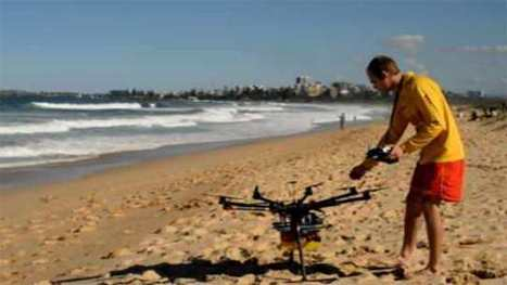 Drones set to revolutionise surf lifesaving   The Robot Times   Scoop.it