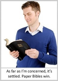 Smarter Youth Ministry: Why paper Bibles are best: the definitive research | interlinc | Scoop.it