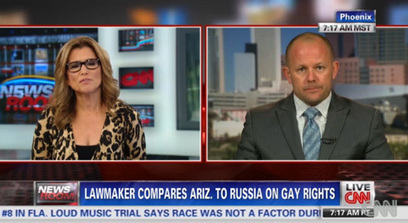 Arizona State Rep. Chad Campbell Denounces Bill Allowing Discrimination Against Gays on CNN | Daily Crew | Scoop.it