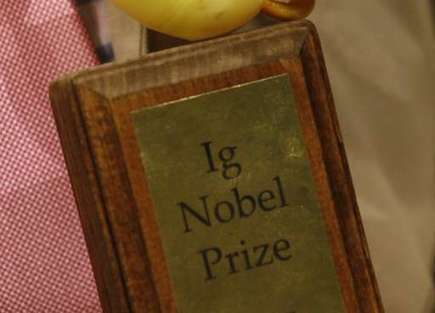 'Man-goat' among winners of spoof Nobel prizes | Strange days indeed... | Scoop.it