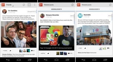 Google+ für Android: Update bringt Bildoptimierung, Location ... | hozpoz | Scoop.it