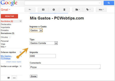 Como Cotrolar tus Gastos Usando Gmail y Google Docs (PC o Movil) | Ciencia Aplicada | Scoop.it