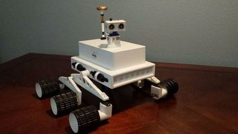 IR Controlled 3D Printed Rover (Arduino) | Raspberry Pi | Scoop.it