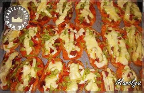 Bayat Ekmek Pizzası Tarifi | Poğaça Tarifleri - Börek Tarifleri | Scoop.it
