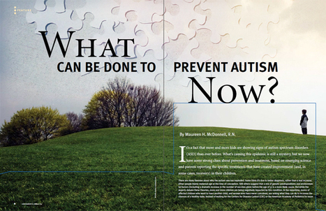 What Can Be Done to Prevent Autism Now? | Informed Choice | Bouldering | Scoop.it
