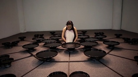 Artist Manipulates 48 Pools of Water with Her Mind | The Creators Project | The New Paradigm of Art | Scoop.it