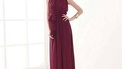 Maxi dress with long sleeves | chemajean | Scoop.it