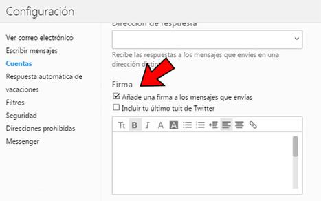 Cómo poner una firma de correo electrónico | adn-dna.net: cajón de sastre | Scoop.it