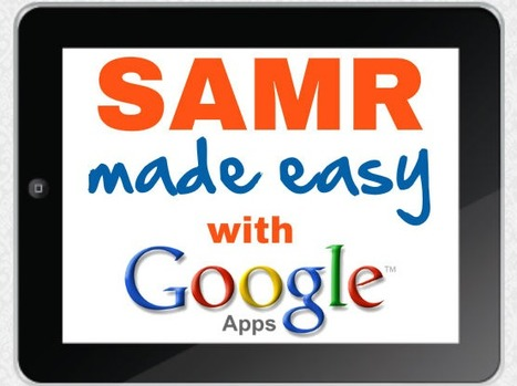 Google Apps and the SAMR Framework Infographic - e-Learning Infographics | Learning Bytes from The Consultants-E | Scoop.it