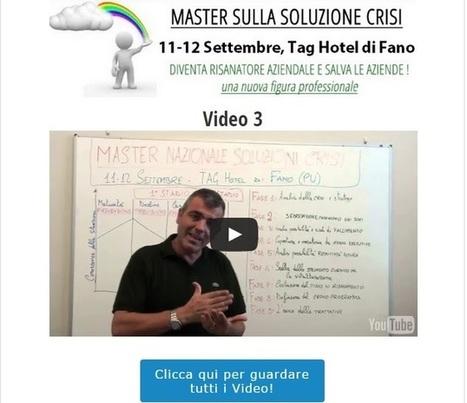 Crisi e ristrutturazioni | [Video 3] Le 9 fasi per risolvere una crisi aziendale | Imprenditore Italiano | Giurisprudenza Italiana sugli strumenti giuridici | Scoop.it