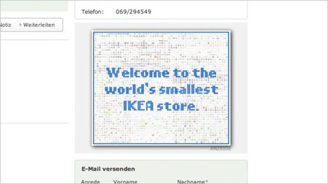 Ikea Squeezes 2,800 Products Inside Single Web Banner Ad | Psychology of Consumer Behaviour | Scoop.it