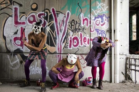 "Mexique : du punk contre les agressions sexuelles avec"" Las hijas de violencia"" 