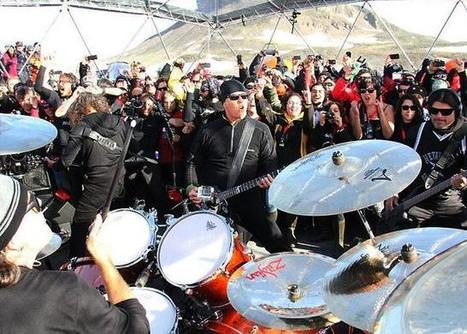 Metallica en la Antártida: haciendo historia   RollingStone Argentina   Metallica Band   Scoop.it