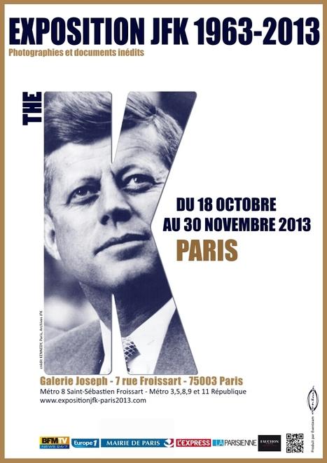 L'expo JFK 1963-2013 se tient du 18 octobre au 30 novembre 2013 à la galerie Joseph Paris 3eme | Que s'est il passé en 1963 ? | Scoop.it