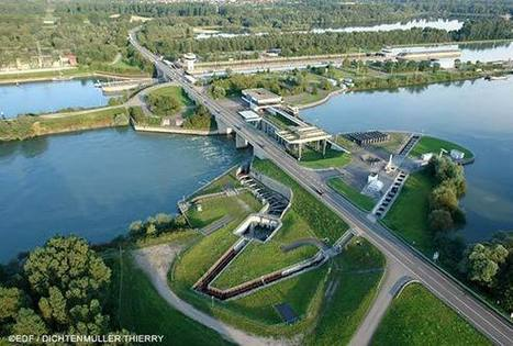 EDF en Alsace - L'hydraulique, 1ère des énergies renouvelables | Le groupe EDF | Scoop.it