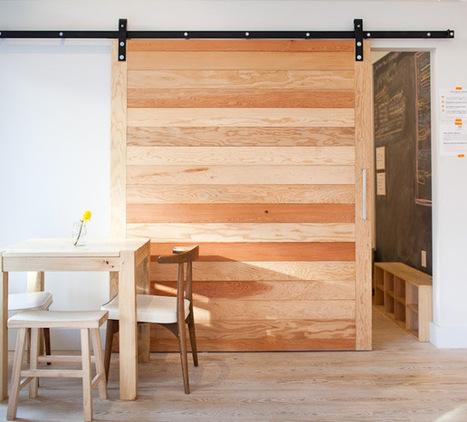 Architectural Elements: Sliding Barn Doors: Remodelista | puuta | Scoop.it