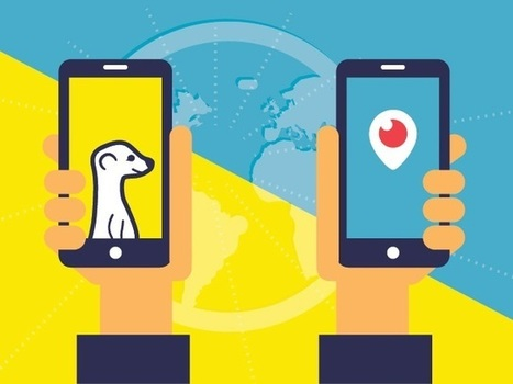 Marketing via Periscope and Meerkat (Infographic) | digital marketing strategy | Scoop.it