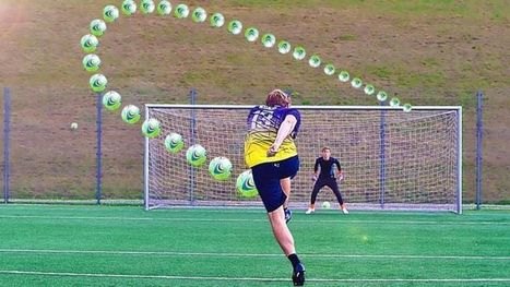 Cómo ejecutar el disparo con efecto perfecto en fútbol, según la ciencia | El diario de Alvaretto | Scoop.it