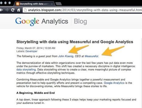 Guest Blogging: Google Not Walking Their Talk | Marketing Revolution | Scoop.it