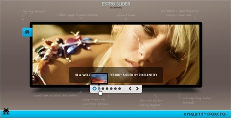 180 Awesome jQuery Slider and Effects Roundup - tripwire magazine | Coding (HTML5, CSS3, Javascript, jQuery ...) | Scoop.it