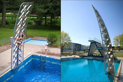 AquaClimb Poolside Climbing Wall | HiConsumption | Design & Architecture | Scoop.it
