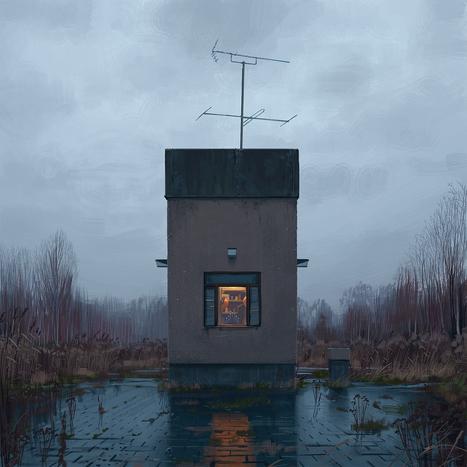 L'inimaginable Suède rétro-futuriste vue par le digital painter Simon Stålenhag   Design Spartan : Art digital, digital painting, webdesign, ressources, tutoriels, inspiration   Art numérique   Scoop.it