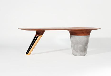 CS1 table basse tri-matière par Astfrei - Blog Esprit Design | Le béton créatif et poétique | Scoop.it