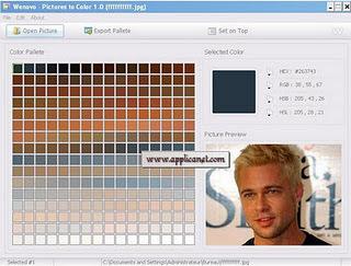Pictures to color: Un programme gratuit pour extraire les couleurs d'une image   Time to Learn   Scoop.it