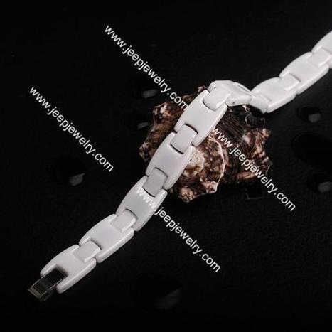 Wholesale White space porcelain inserted magnet fatigue radiation men's and women's bracelet - $ 13.20 : Ceramics Jewelry Ceramics Bracelets | How to choose an ideal jewelry for your lover | Scoop.it