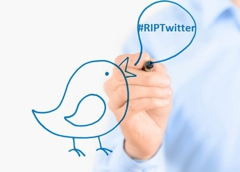 Twitter : son PDG Jack Dorsey réagit au #RIPTwitter ou la mort de Twitter | François MAGNAN  Formateur Consultant | Scoop.it