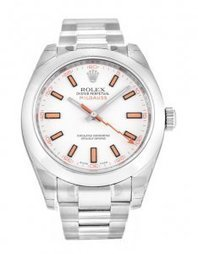Rolex Milgauss 116400 White Baton watch fake on sale. - €129.00 | buy cheap replica watches | Scoop.it