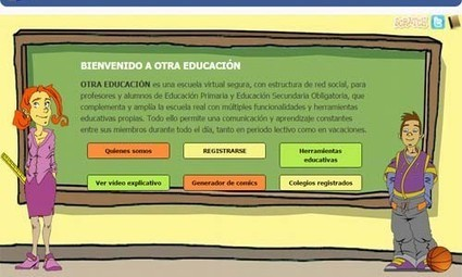Redes sociales educativas: ¿cuál utilizas? - Educación 3.0 | Recull diari | Scoop.it