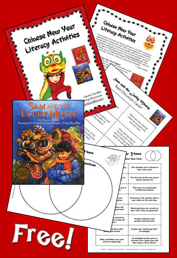 Chinese New Year Literacy Activities | Seasonal Freebies for Teachers | Scoop.it