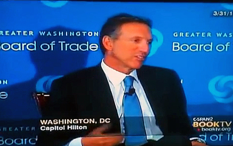 Why Starbucks CEO Howard Schultz Is A Hero [video] | Personal Branding Using Scoopit | Scoop.it