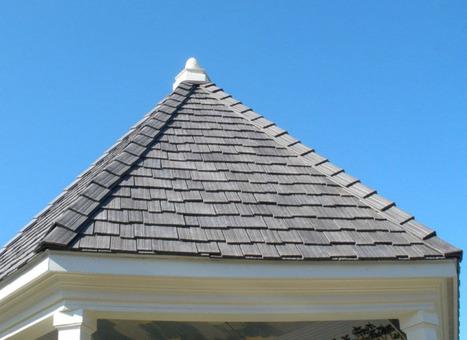Des pneus sur le toit, c'est durable !   Design, green design, art brut, architecture bois...   Scoop.it