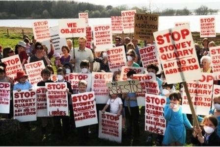 UK NEWS: Stowey Quarry #asbestos dump plan facing defeat | Asbestos and Mesothelioma World News | Scoop.it