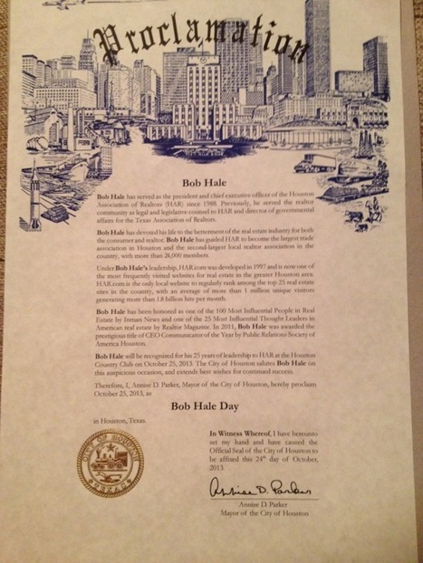 Today is Bob Hale Day. | Real Estate Plus+ Daily News | Scoop.it