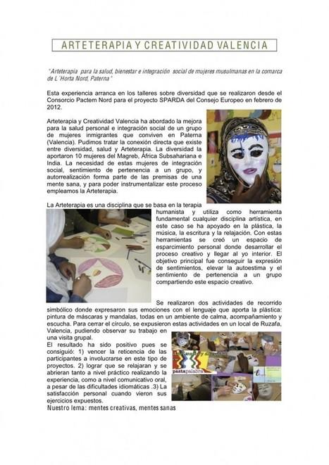 Arteterapia – Valencia keeps activity | Media Cross Production | La Arteterapia: una nueva alternativa | Scoop.it
