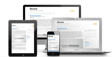 Reverie: Versatile HTML5 WordPress Framework | ThemeFortress: WordPress Themes and Plugins | Responsive Framework | Scoop.it