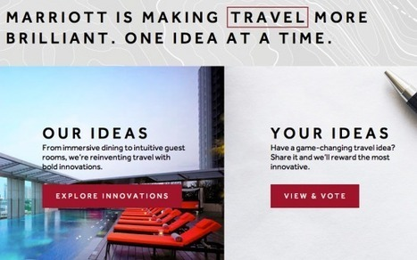 Marriott steps (un)squarely into Starwood territory with rebrand and co-creation platform | User Experience | Scoop.it
