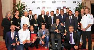 Photos: Chef Kerry Simon among honorees at emotional Silver State Awards at ... - Las Vegas Sun | Urban eating | Scoop.it