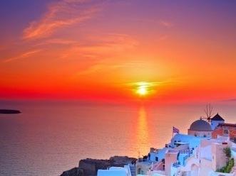 National Geographic: Santorini's Sunset - Top Ten in the World ~ HellasFrappe | Greek Islands | Scoop.it