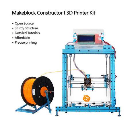 Makeblock Constructor I 3D Printer Kit | 3d printers and 3d scanners | Scoop.it