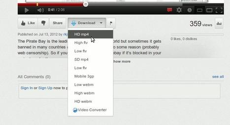 YouTube Downloader for Ubuntu [12.04] / Linux Mint [13] | saameer | Scoop.it